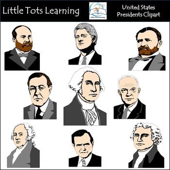 United States Presidents Clip Art