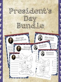 President's Day Close Reading Bundle