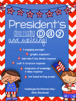 President's Day - February Close Reading Unit