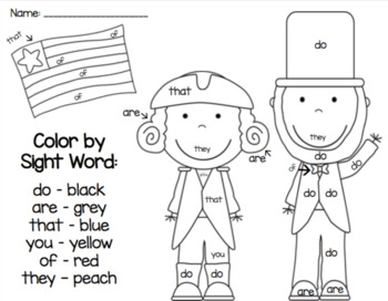 Presidents' Day Coloring Pages • FREE Printable PDF from PrimaryGames | 272x350
