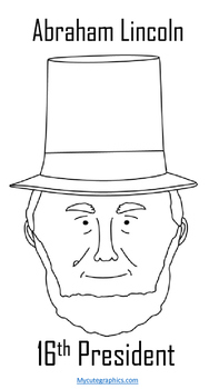 President's Day Coloring Sheet Packet--4 Sheets