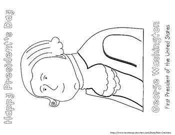 President's Day Coloring Sheets