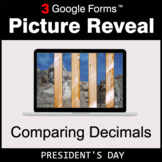 President's Day: Comparing Decimals - Google Forms Math |