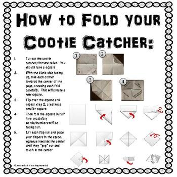 President's Day Cootie Catcher