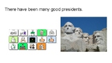 President's Day Core Vocabulary