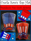 President's Day Craft Activities: 3D Uncle Sam's Top Hat Craft