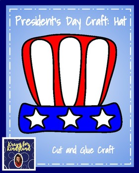 President's Day Craft: Hat