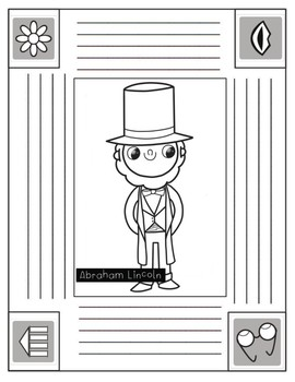 President's Day DIFFERENTIATED Writing Activities in English and SPANISH