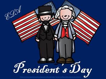 President's Day ELA Packet
