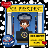 President's Day Election Early Reader Literacy Circle