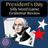 President's Day Fill in the Blanks Word Game