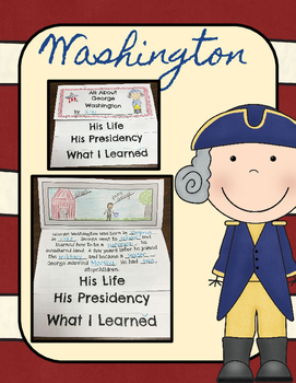 President's Day Flip Books