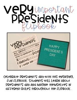 President's Day Flipbook