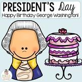 President's Day - George Washington's Birthday Crafts & Ac