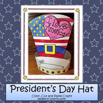 Patriotic President's Day Hat Craft