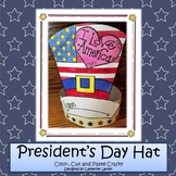 Patriotic  hat Craft, Memorial  Day Craft, 4 of July Craft