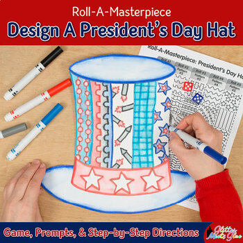 President's Day Hat Game | Uncle Sam Craftivity, Art Sub Plan, & Craft Lesson