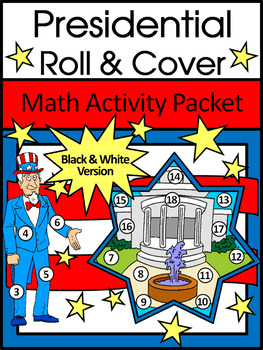 President's Day & Inauguration Game Activities: Presidential Roll & Cover
