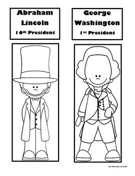 Presidents Day Lapbook