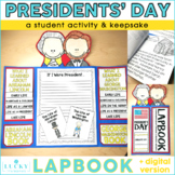 President's Day Lapbook | George Washington & Abraham Lincoln Craftivity