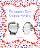 President's Day Lincoln and Washington Writing Papers