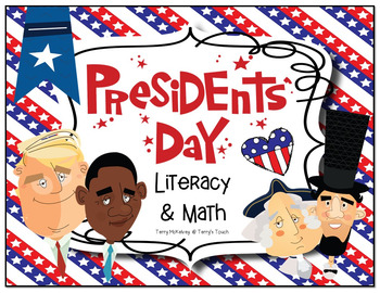 President's Day Literacy and Math