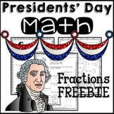 President's Day Math Worksheets 3rd Grade 4th Grade Fractions Common Core