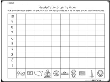 President's Day Math on the Go!