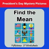 President's Day: Mean (Average) - Color-By-Number Mystery