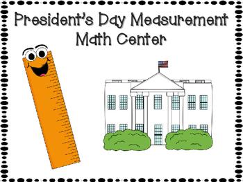 President's Day Measurement Activities