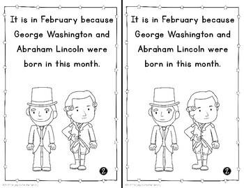 President's Day Mini Books