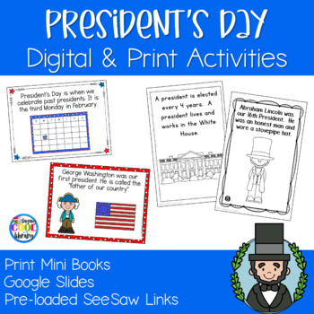 President's Day Mini Books