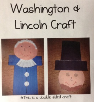 President's Day Mini-Unit with Washington and Lincoln