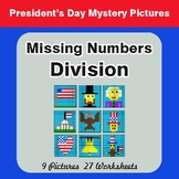 President's Day: Missing Numbers Division - Mystery Pictures