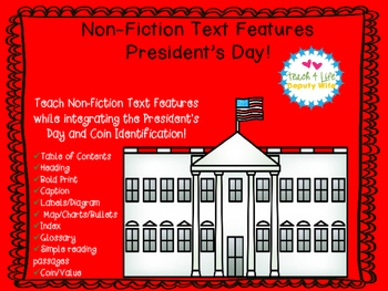 President's Day, Money/ Coins Non-Fiction Text Features