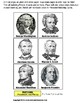 President's Day Money Matching File Folder Activity for Autism FREE FILE FOLDER