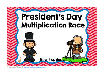 President's Day Multiplication Race