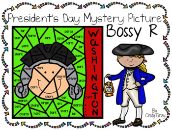 President's Day Mystery Picture ~ Bossy R ~ Washington
