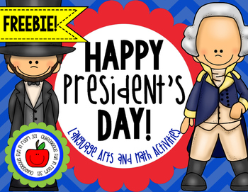 President's Day Pack FREEBIE!!!