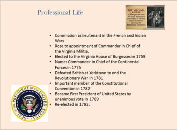 President's Day PowerPoint Computer Project
