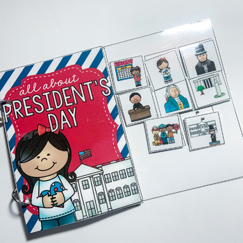FREEBIE President's Day Preschool Language Unit