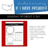 President's Day Printable | If I Were President | FREEBIE