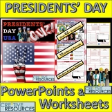President's Day PowerPoint Quiz Lesson