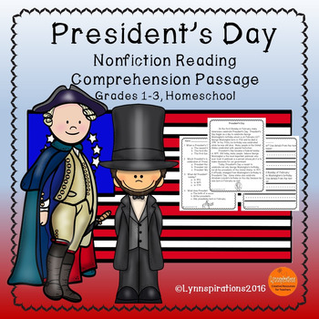 President's Day Reading Comprehension