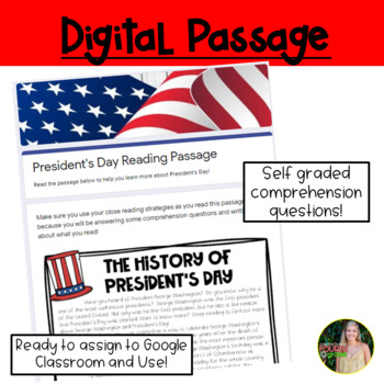 President's Day Reading Passage