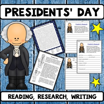 President's Day Reading Research and Writing