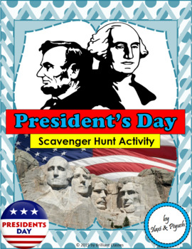 President's Day Scavenger hunt