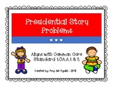 President's Day Story Problems