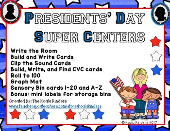 Presidents' Day Super Centers 2019