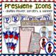 Presidents' Day Bulletin Board - US Presidents (Interactive!) - FEBRUARY B.B.
